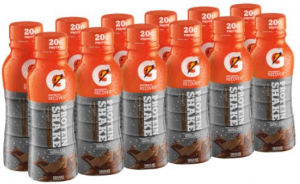 Gatorade Chocolate Shakes