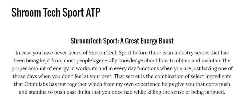 ShroomTech Sport Review